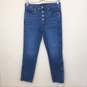 J. Crew Vintage Straight Eco Jean Button Fly 29